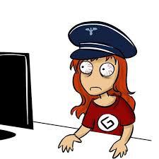 Grammar nazi devant son écran