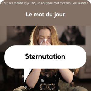 sternutation définition