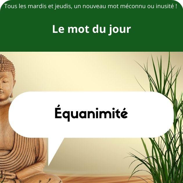 équanimité définition