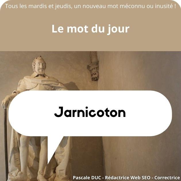 jarnicoton définition
